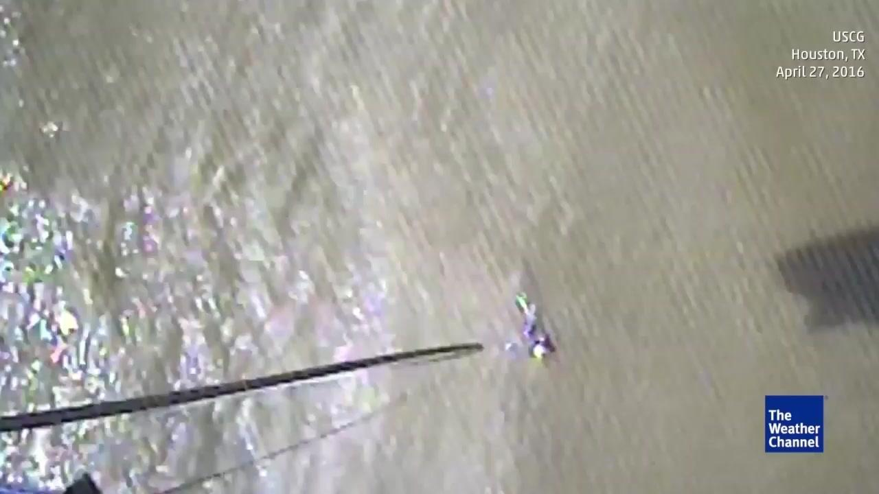 Coast Guard Rescues Boaters in the Gulf