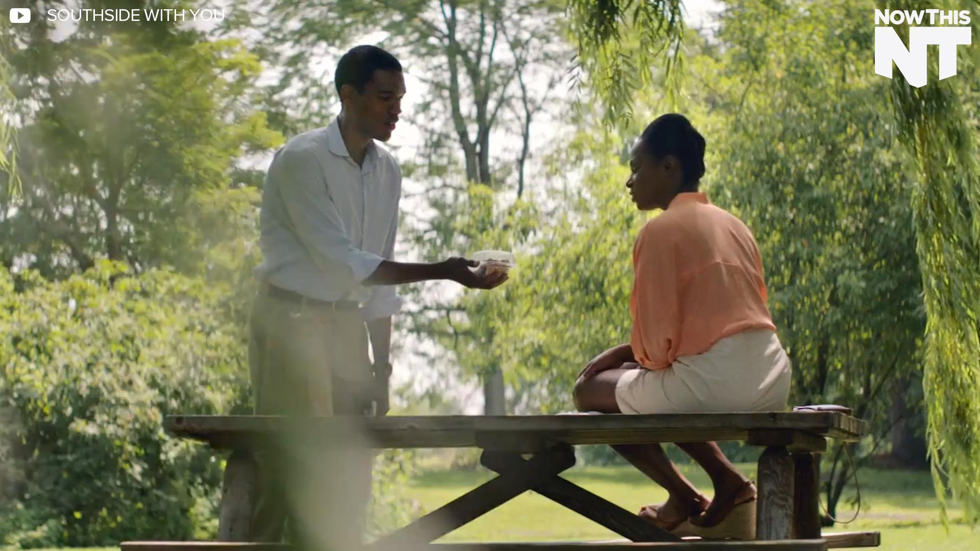 Barack And Michelle Obama's First Date Recreated In 'Southside With You'