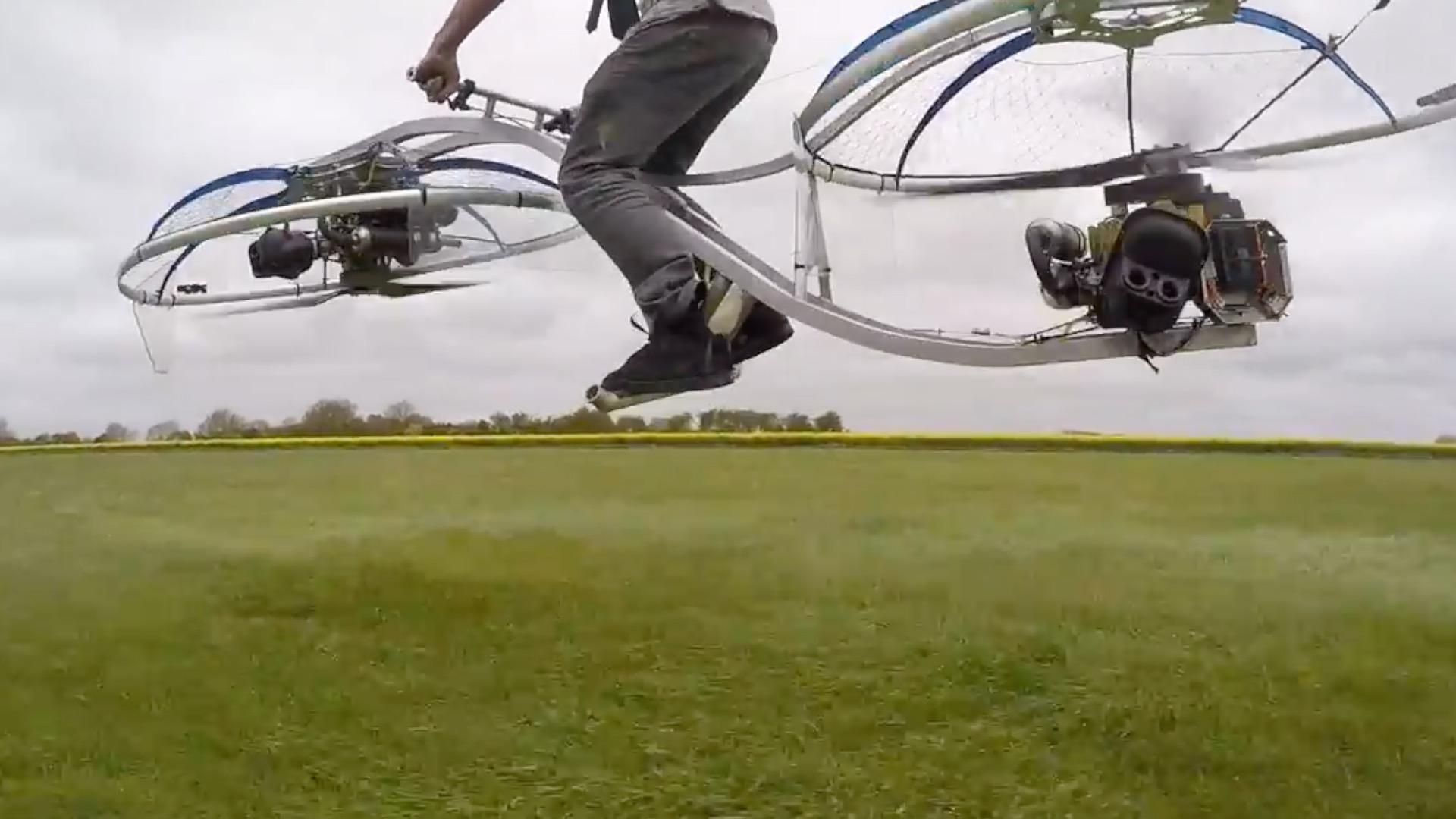 This Plumber Made a Working Hoverbike