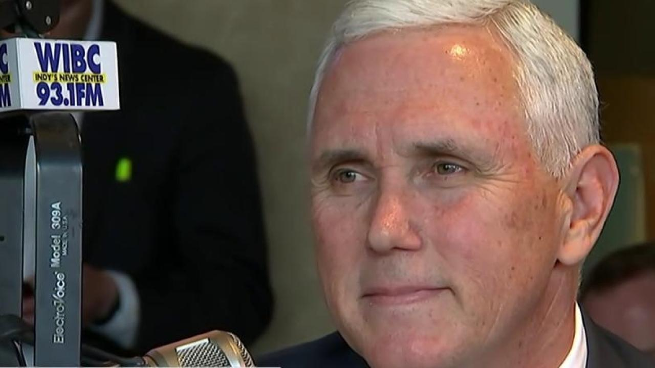 IN Gov. Pence: 'I will be voting for Ted Cruz'