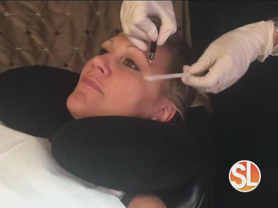 Vickie Kuhn from Custom Body Contour is a permanent make-up artist