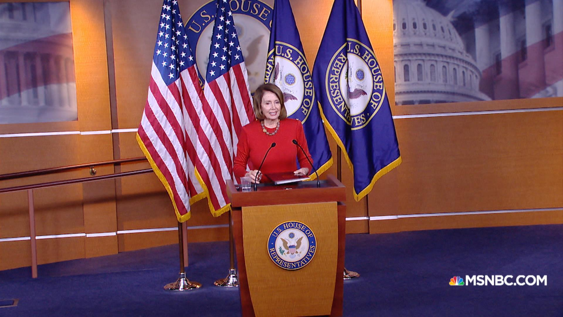 Pelosi: Hillary Clinton is playing the 'experience card'