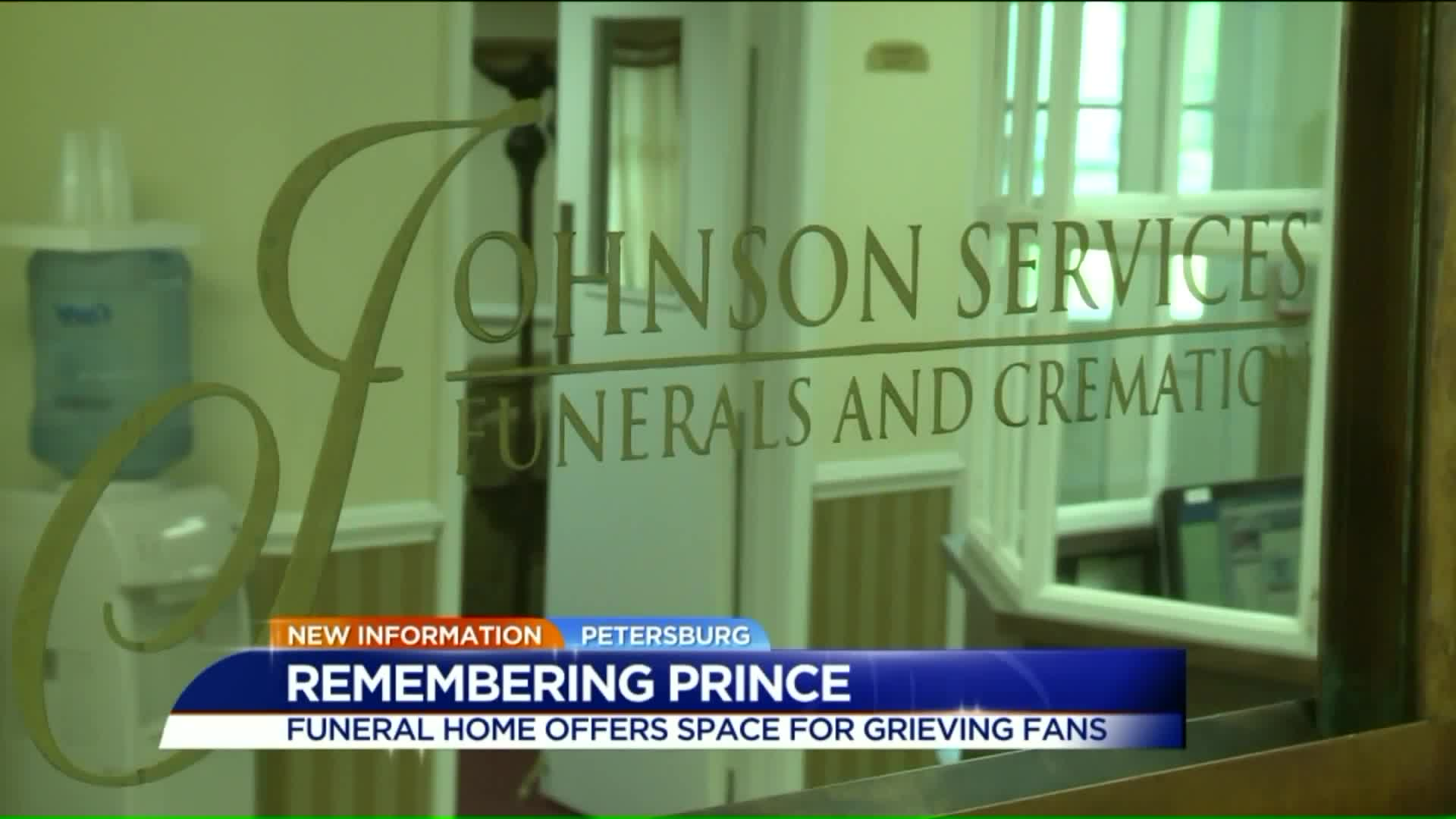 Virginia Funeral Home Opens Doors for Grieving Prince Fans