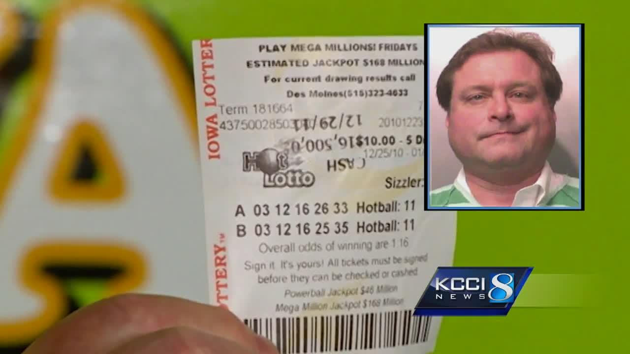 Texas man in Iowa to face lottery jackpot fraud charges