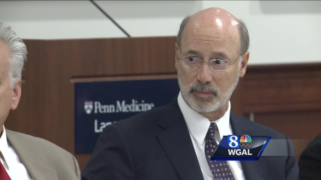 Wolf weighs in on PA heroin epidemic