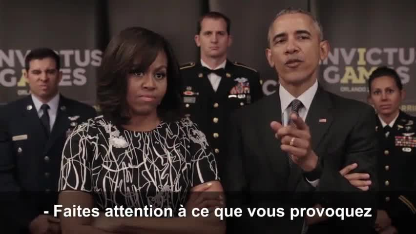 La reine d'Angleterre et Barack Obama se défient par vidéos