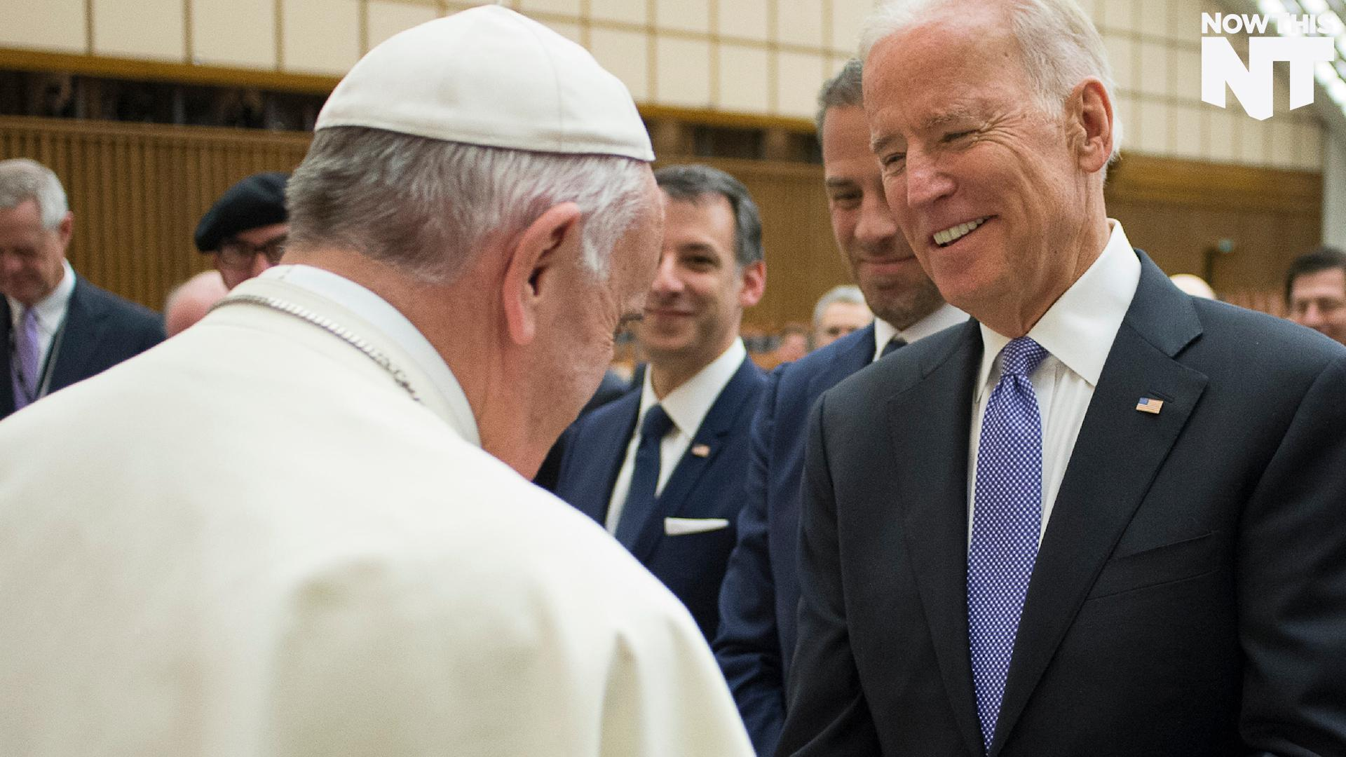 Joe Biden Says The Pope Comforted Him After His Son's Death