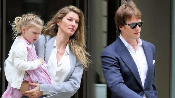 Gisele Bundchen and Tom Brady Look Elegant Amidst NFL 'Deflategate' Drama