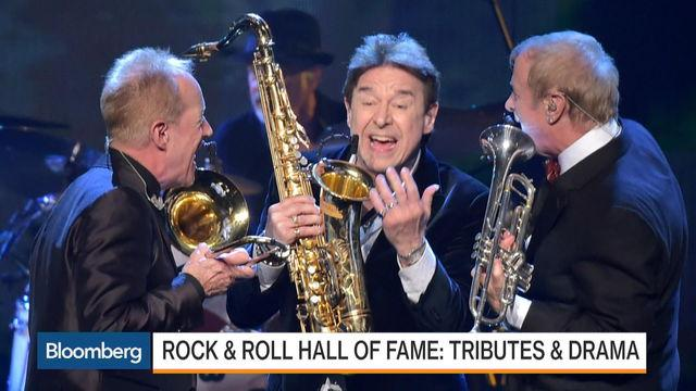 Rock & Roll Hall of Fame: Tributes and Drama