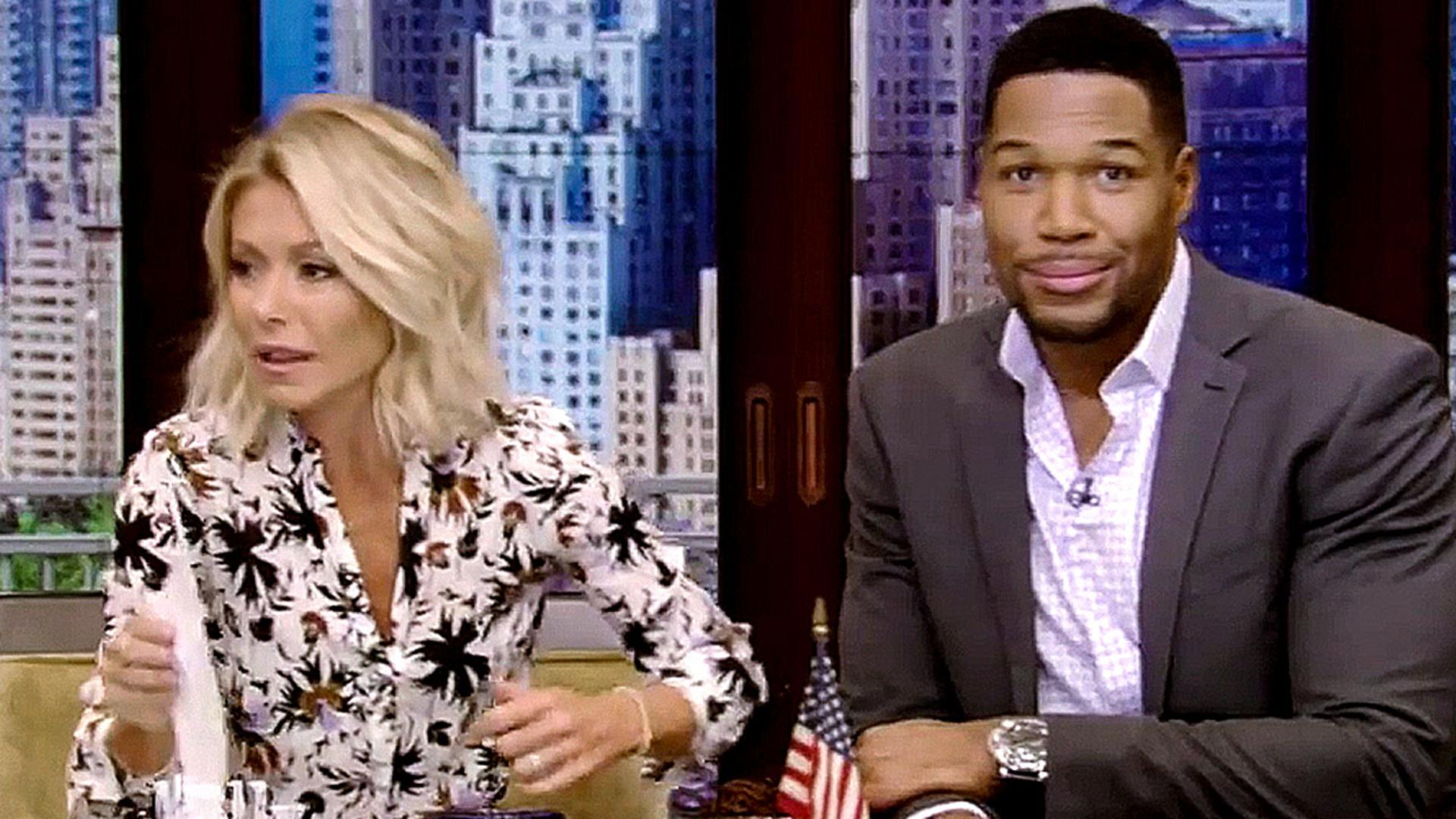 Kelly Ripa Slams Michael Strahan's Two Failed Marriages on 'Live!'