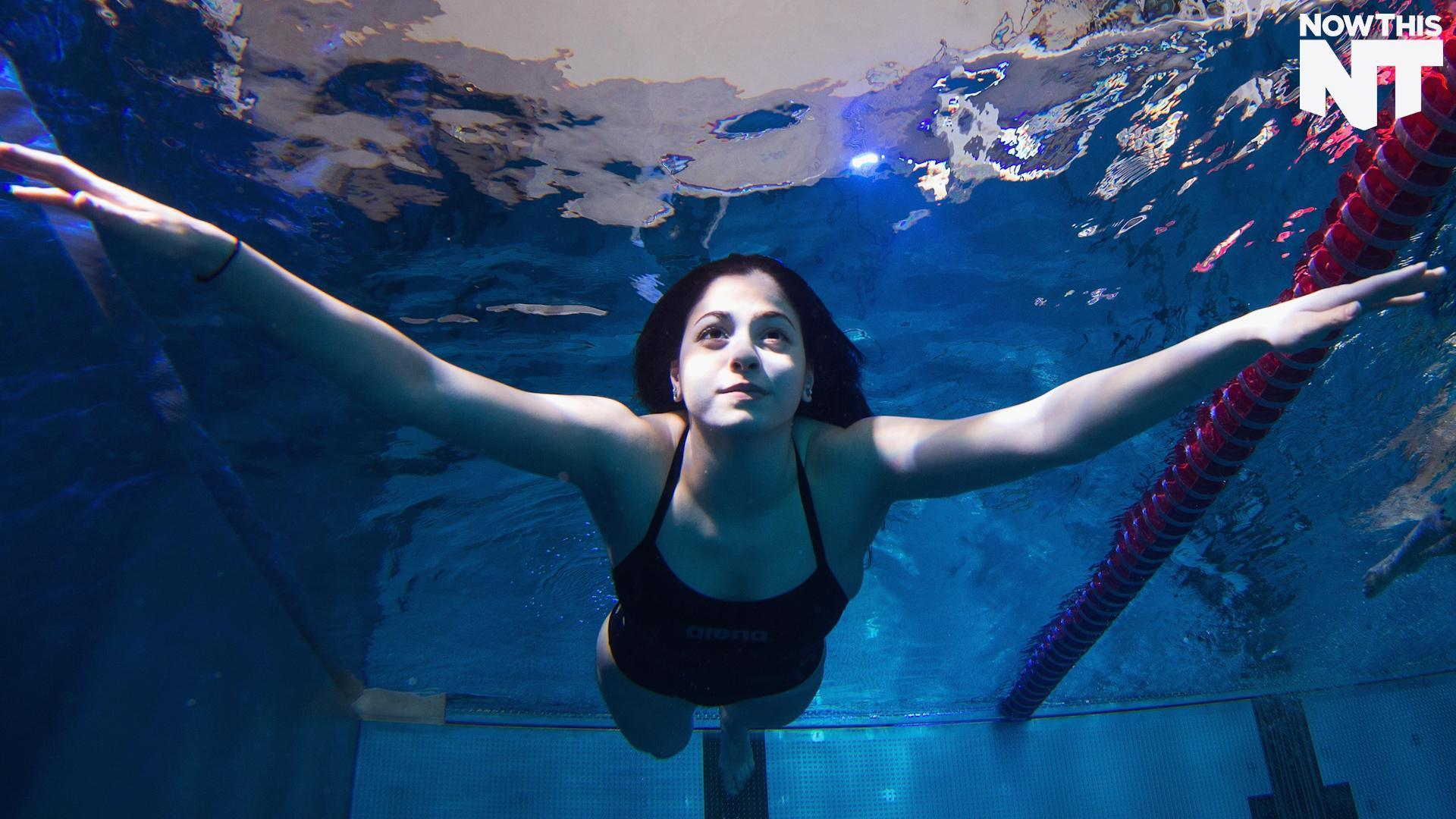Syrian Swimmer And Olympic Hopeful Saved Boat Of 20 Refugees