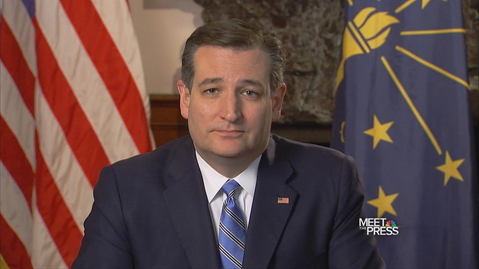 Ted Cruz: 'Indiana Has a Chance to Choose'