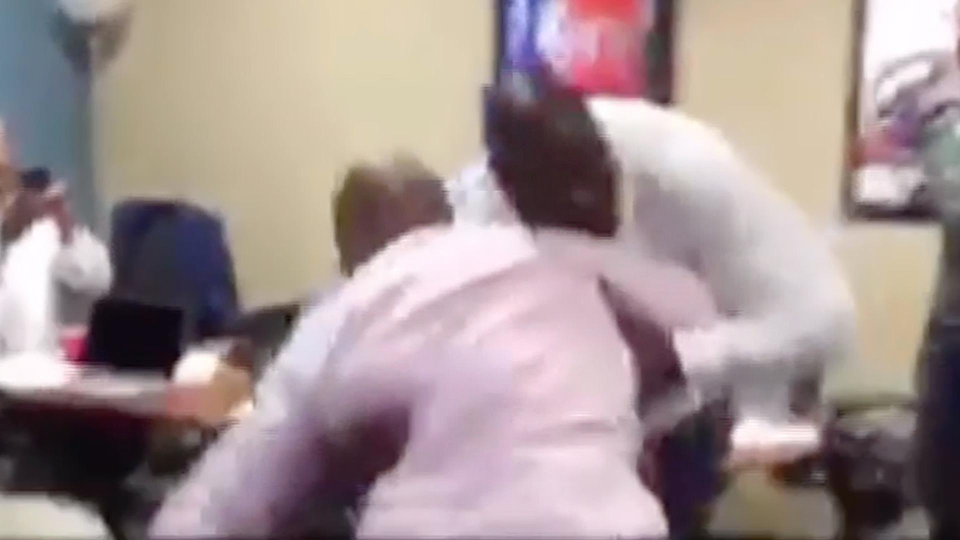 Shaquille O'Neal & Charles Barkley Fight Each Other, Have Dance Battle on Inside the NBA