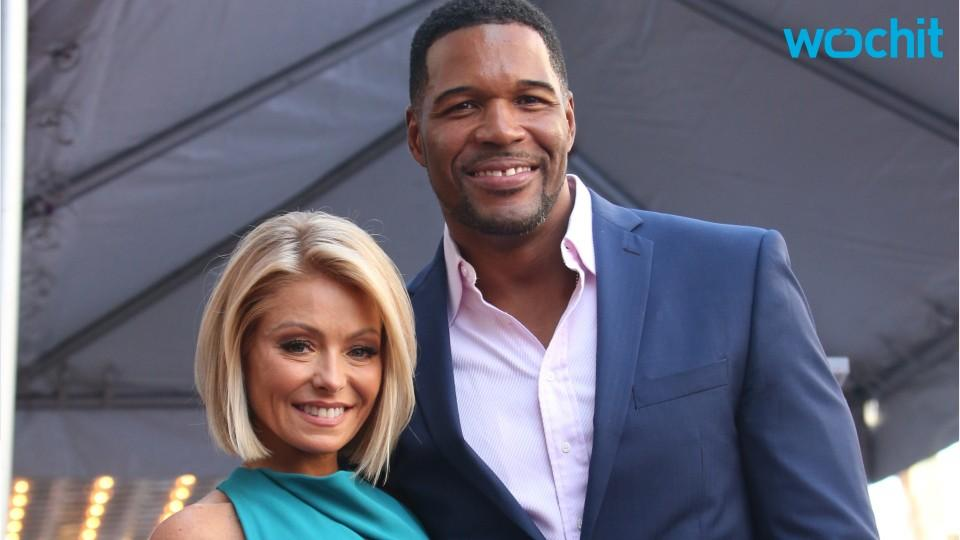 Awkwardness Ensues as Kelly Ripa Brings Up Michael Strahan's Divorces on 'Live'