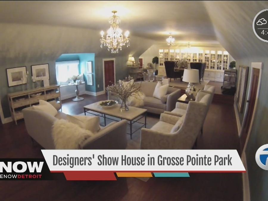 Designers' showhouse in Grosse Pointe Park