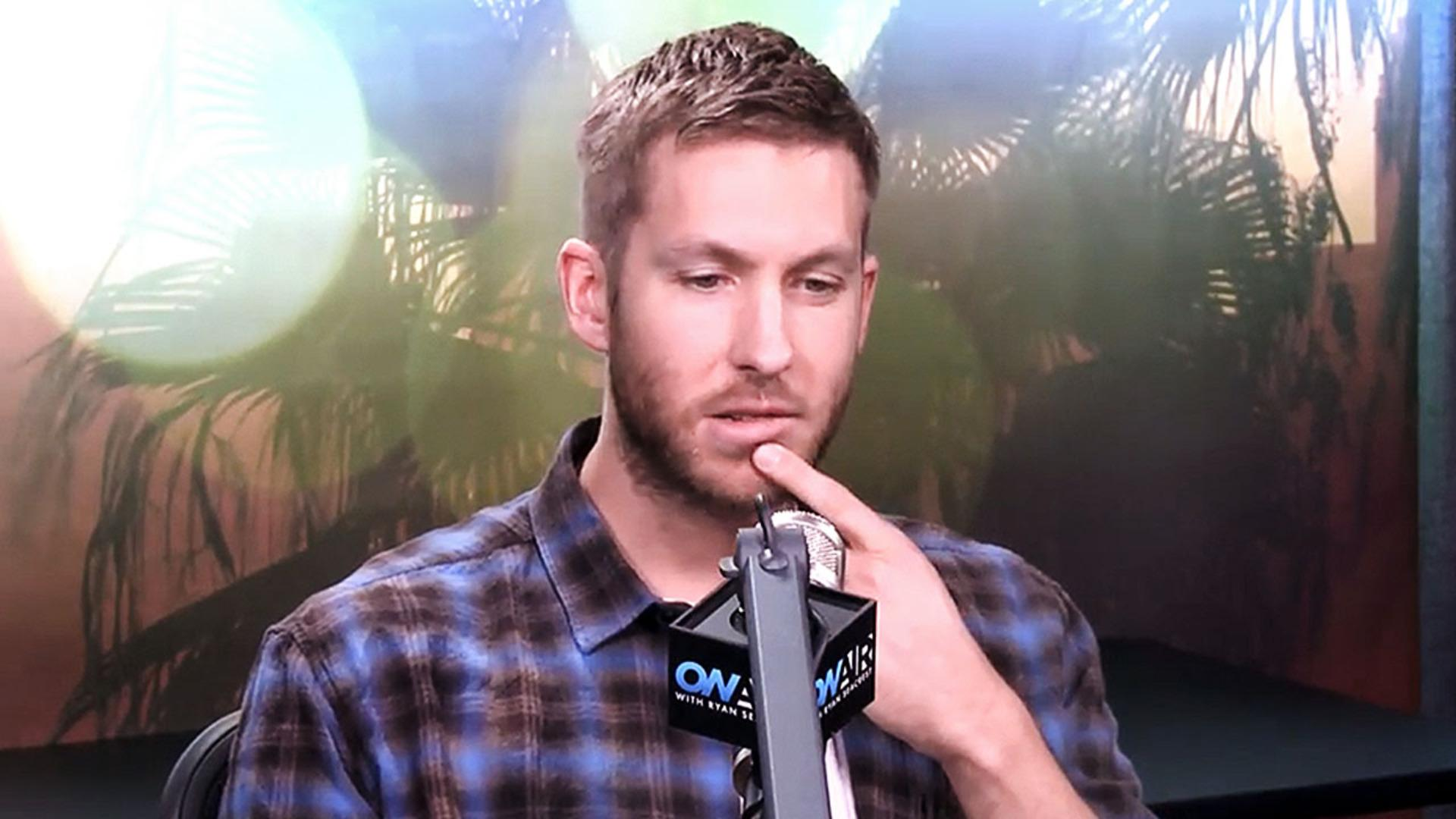 "Calvin Harris Says He Wont' Collaborate with Taylor Swift ""I Can't See It Happening"""