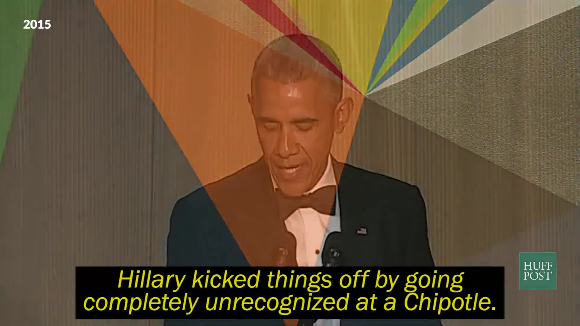 Obama's Dopest Burns From The WHCD