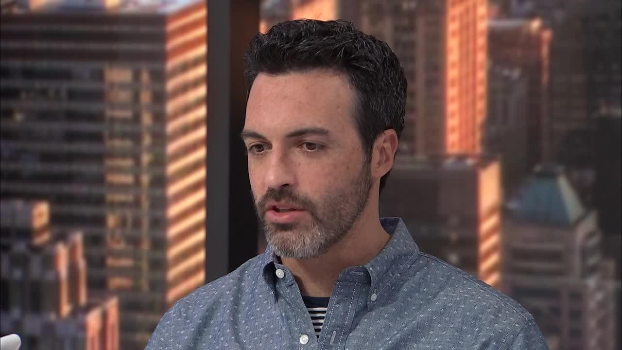 Reid Scott reveals who laughs the most on the set of Veep