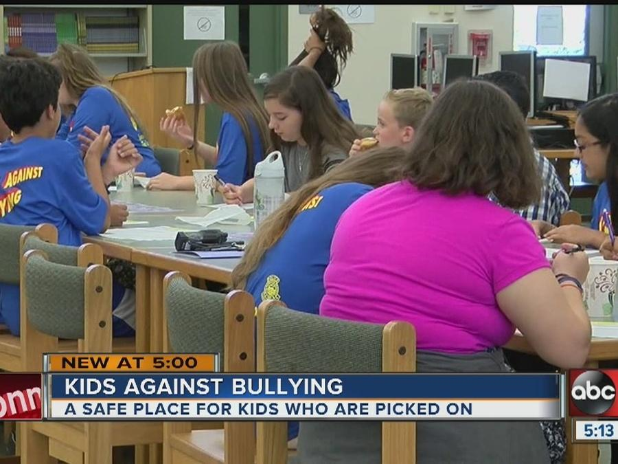 Students create to stop bullying in school