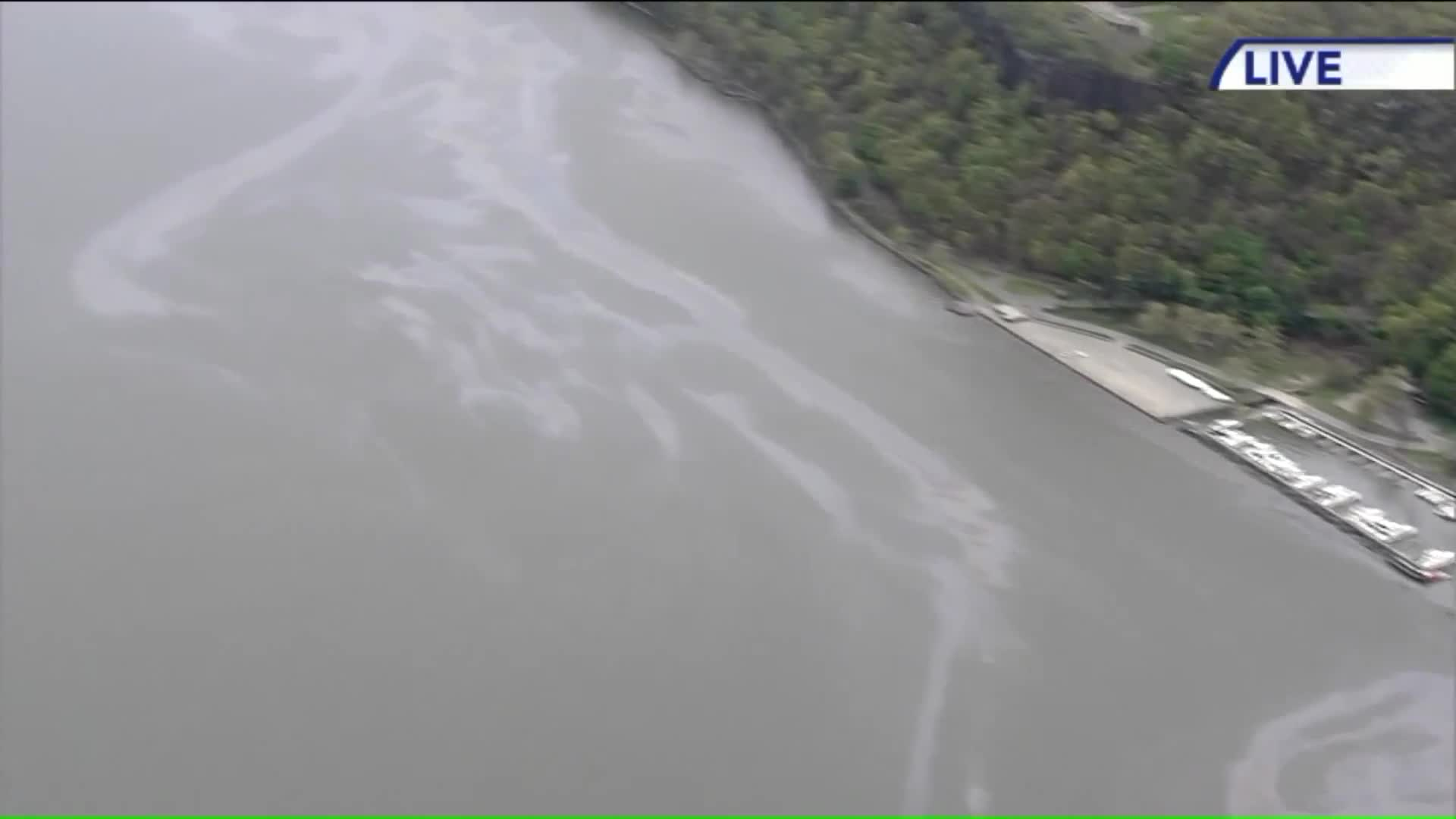 Oil Spill In Hudson River Being Investigated