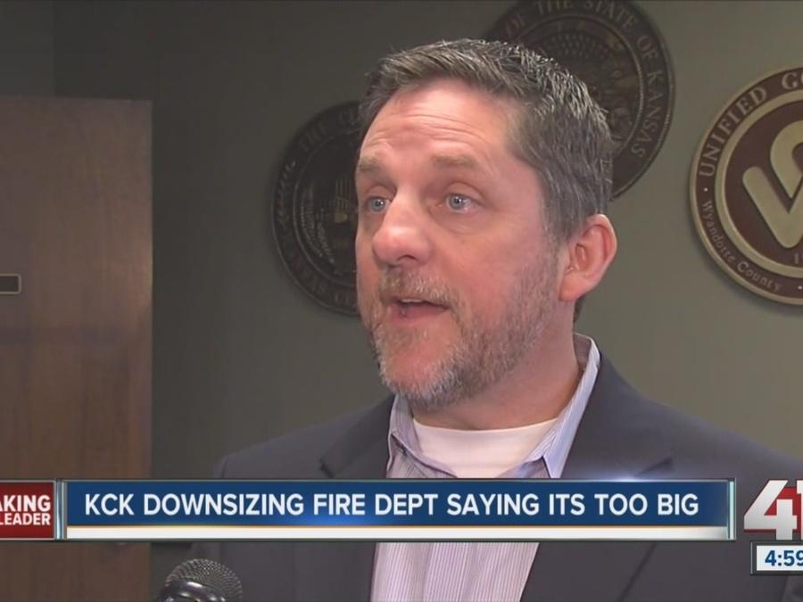 KCK announces changes to fire department