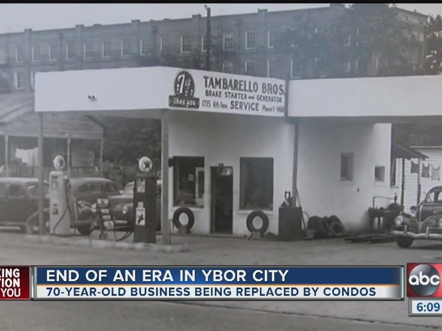 70-year-old business being replaced by condos in Ybor
