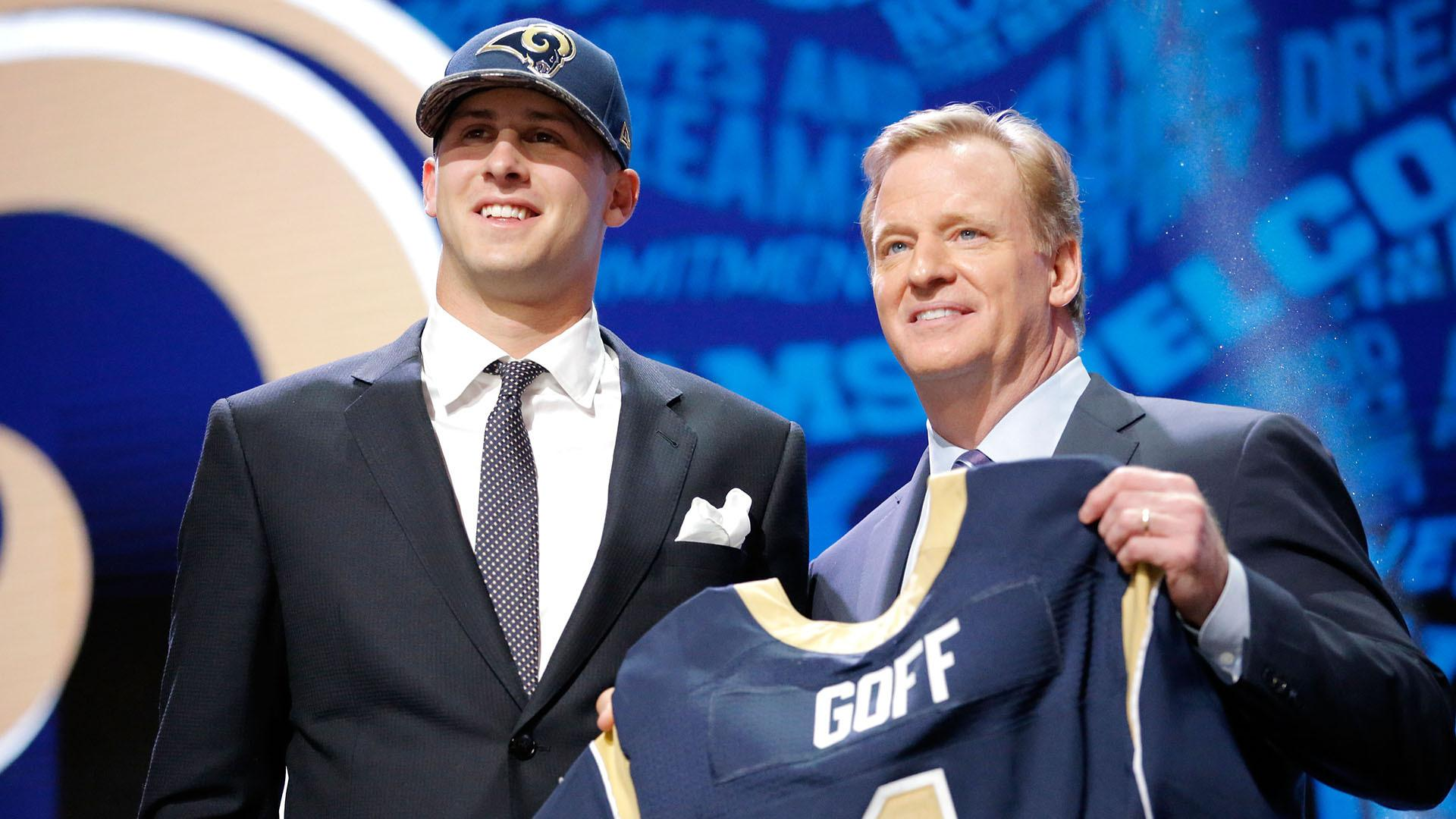 L.A. Rams Draft Jared Goff, Fans Less Than Pleased