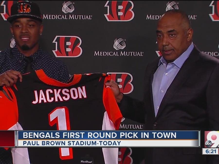 Bengals introduce No. 1 pick William Jackson III