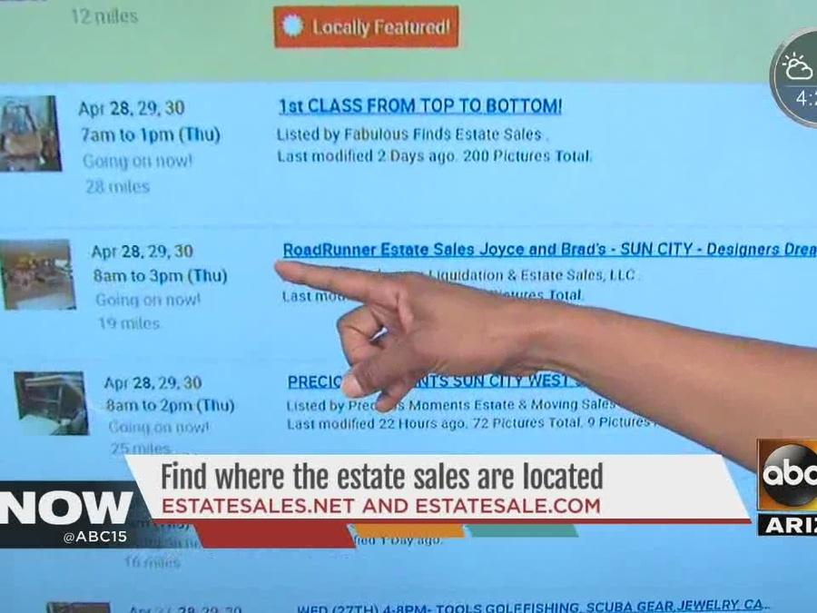 Smart Shopper: Find where estate sales are located across the Valley