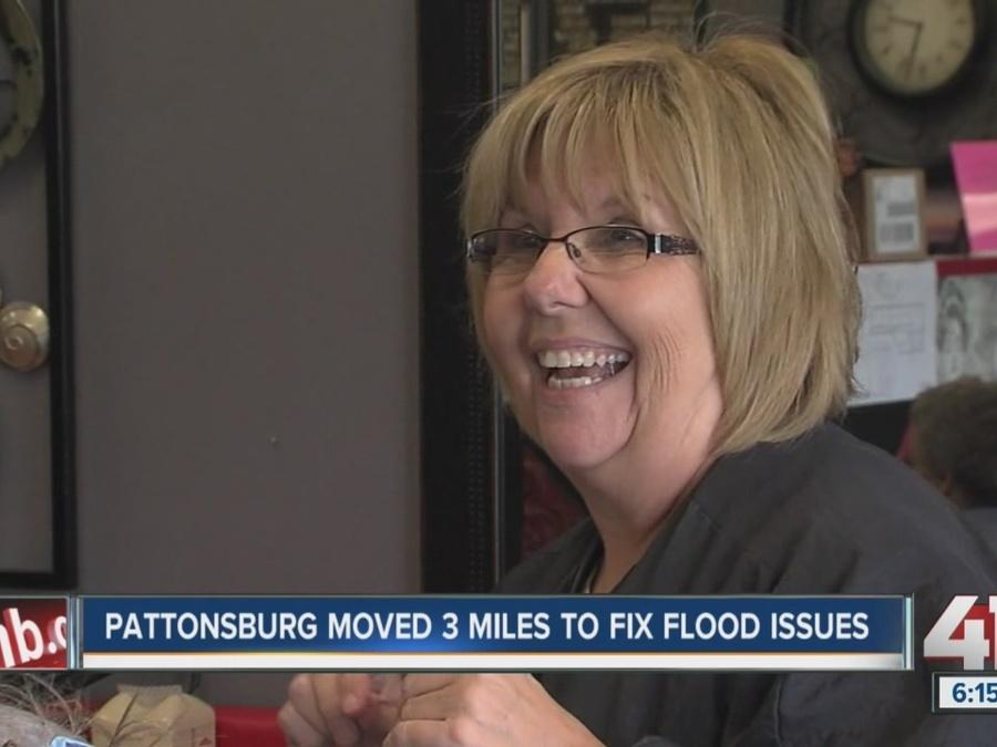 Pattonsburg moved three miles to fix flood issues
