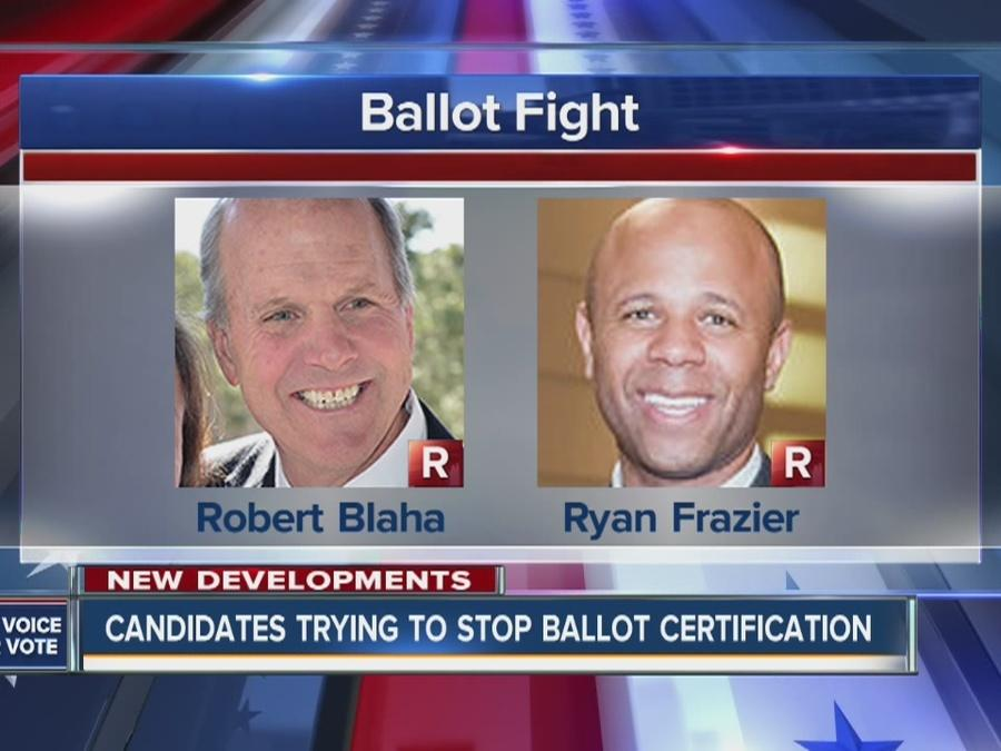 Candidates trying to stop ballot certification
