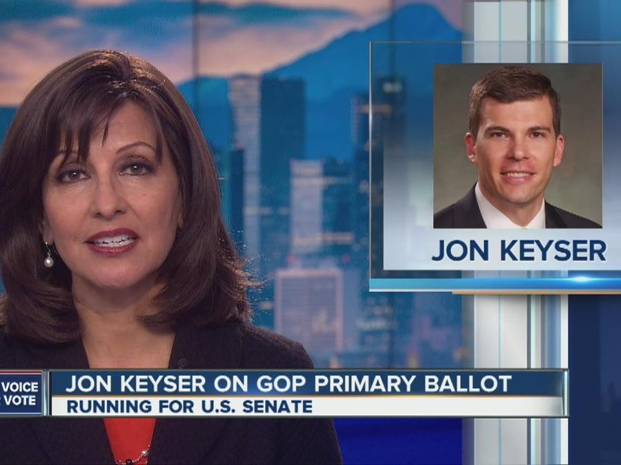 Jon Keyser on GOP primary ballot