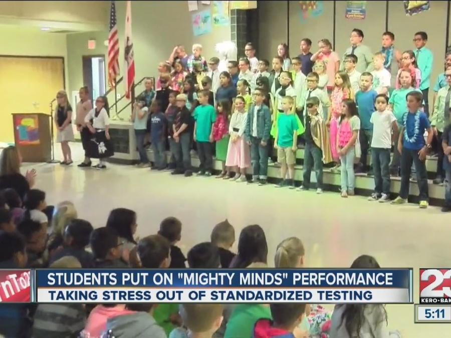 "Students put on ""Mighty Minds"" performance"