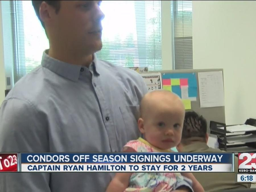 Ryan Hamilton signs 2 year deal with Condors; decision about more than just hockey