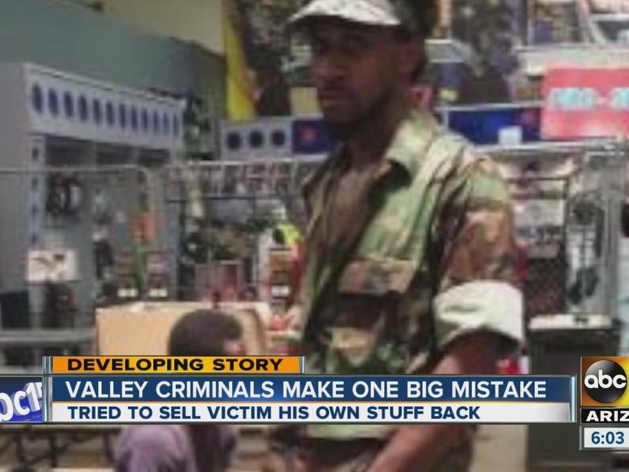Valley criminals make one big mistake