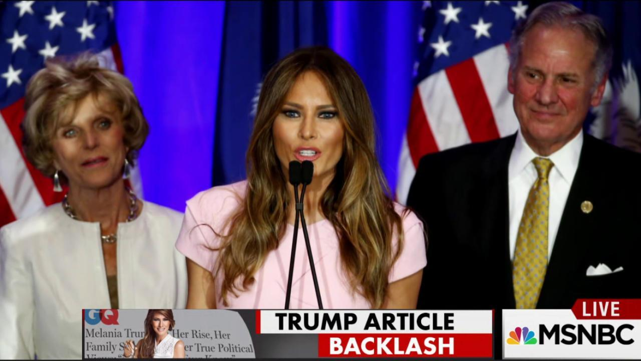 Melania Trump profiler hit with anti-Semiticism