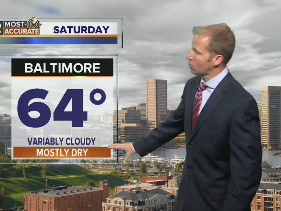Forecast: Split Weekend, Rain for 2nd Half
