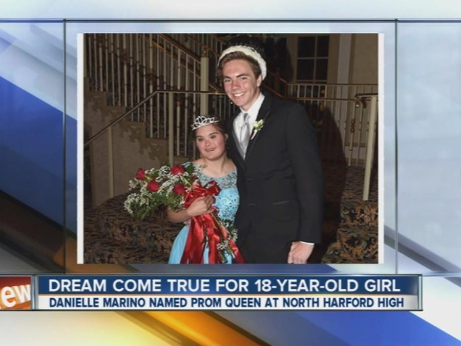 Dream come true for prom queen