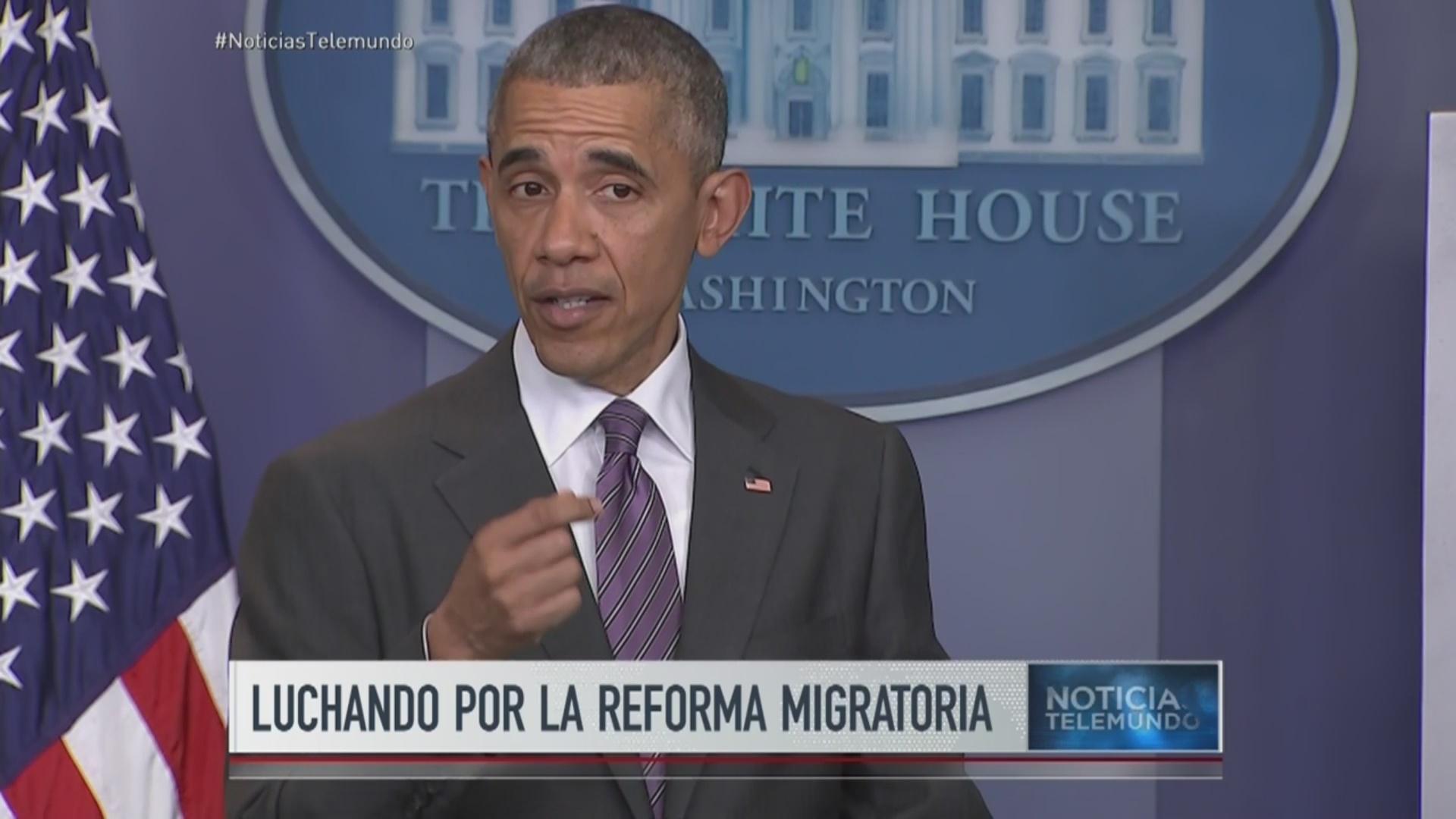 Confesión de Obama decepciona a indocumentados