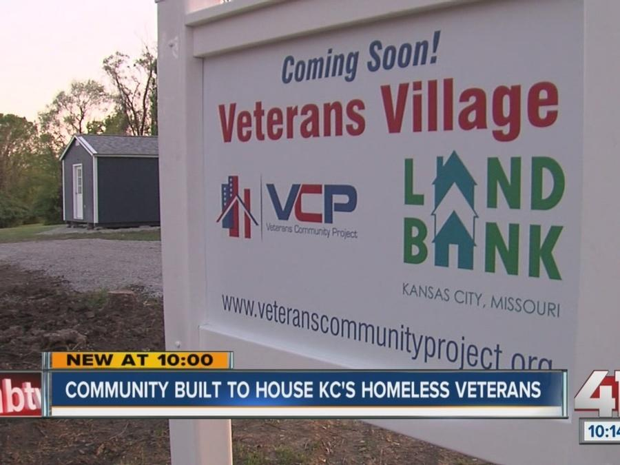 Tiny home for homeless vets ready for dedication