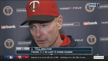 Paul Molitor: 'Just not a very good game for us in any phase'