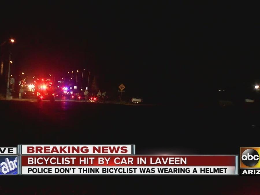 Bicyclist hit by car in Phoenix