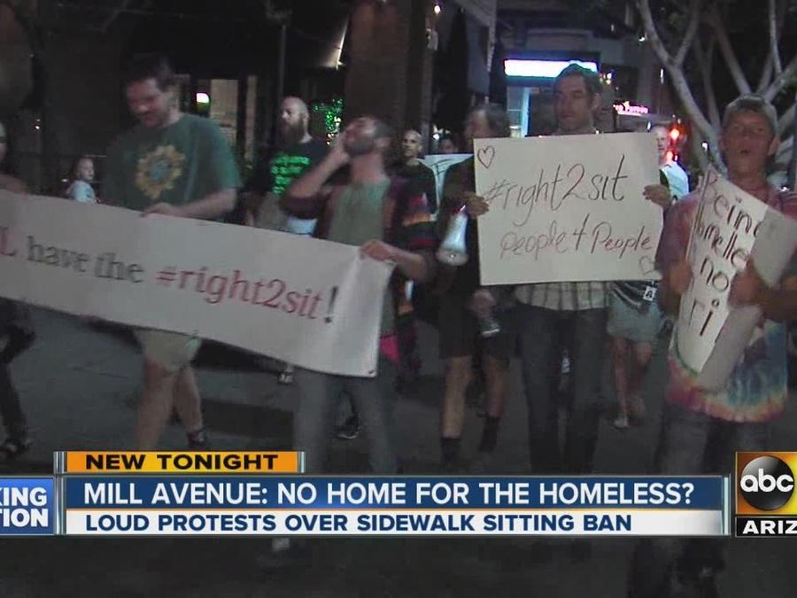 Mill Avenue: No home for the homeless?