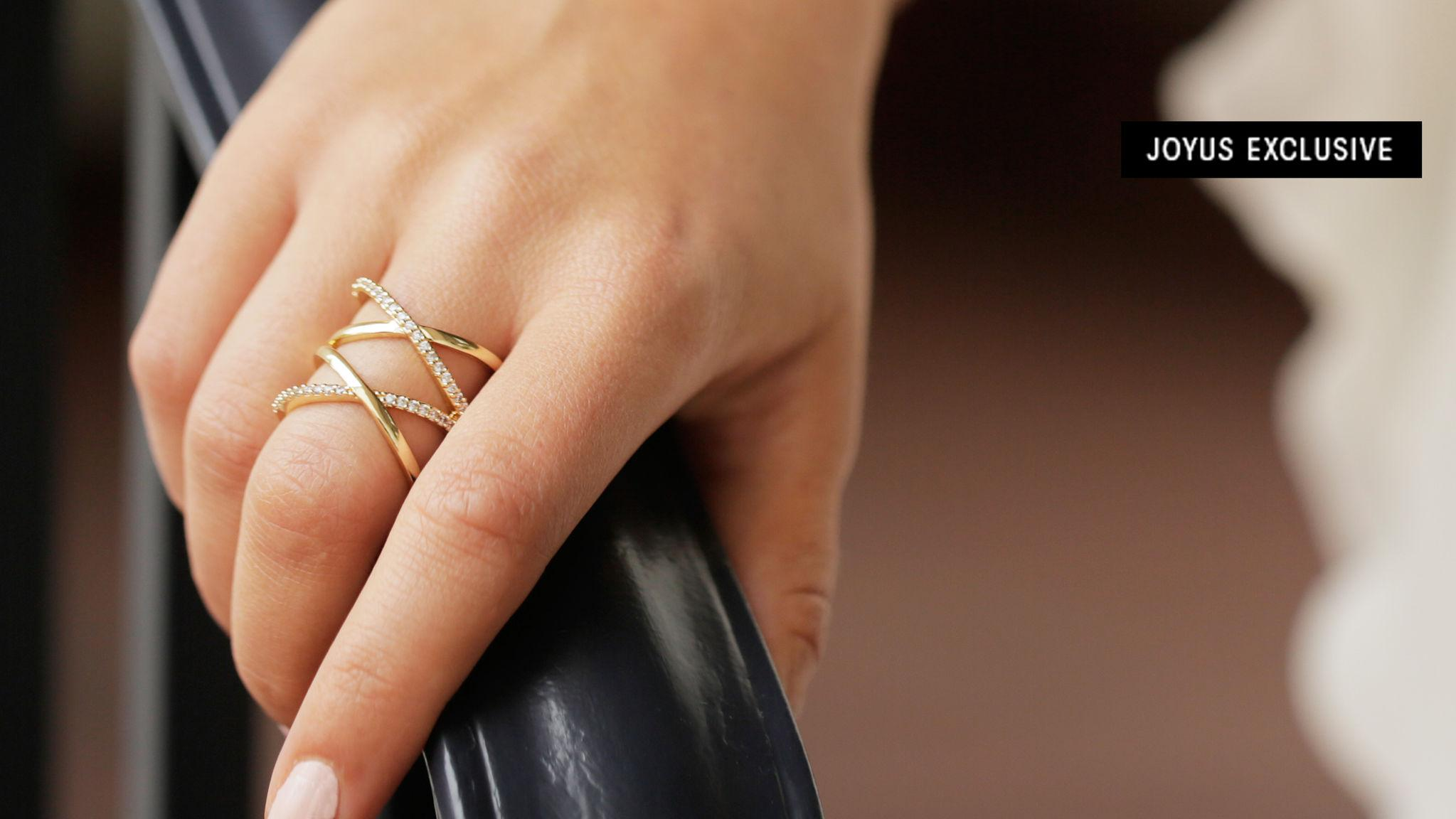 Double Down on Style in Our New X Ring
