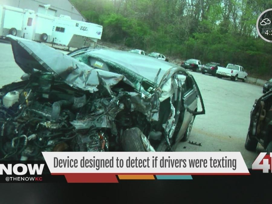 Textalyzer Technology for Distracted Driving Detection