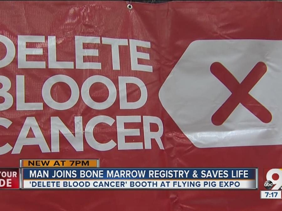 Local man joins bone marrow registry and saves a life