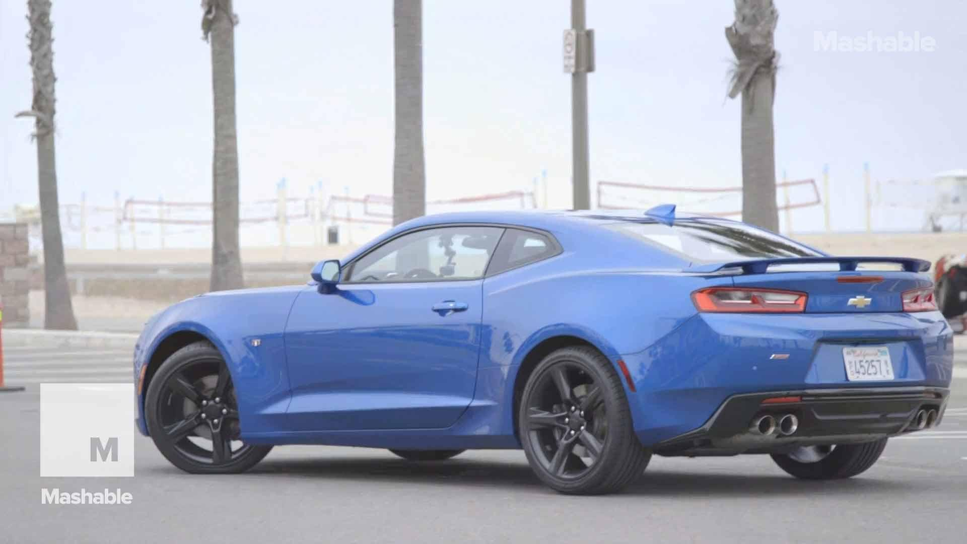 The American muscle car that wirelessly charges your phone while doing donuts