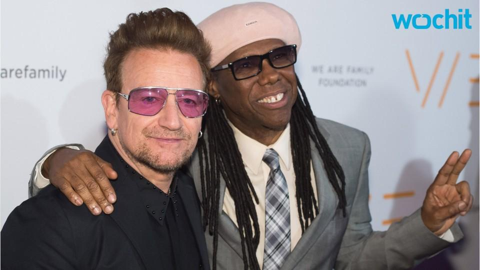 Bono, Nile Rodgers Rock Audience At Benefit Concert