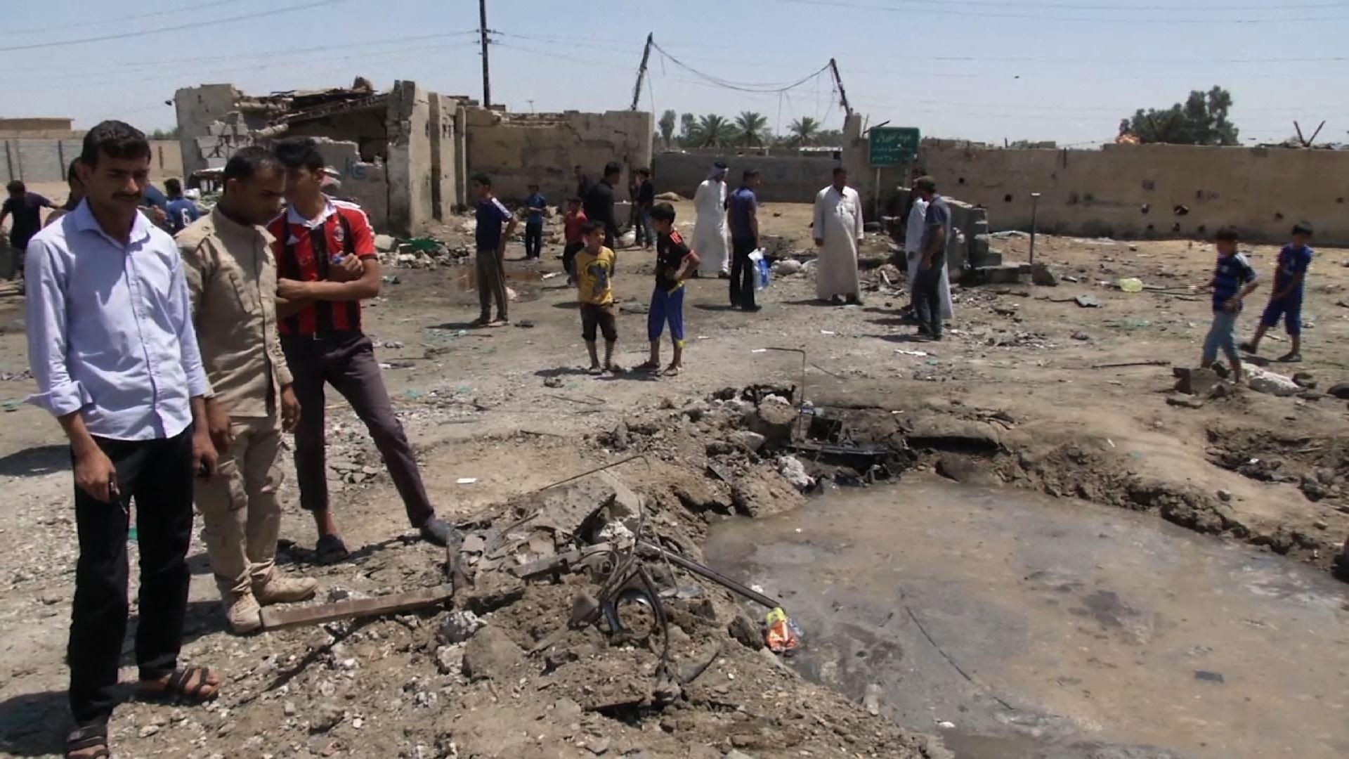 Raw: Deadly Car Bombing in Baghdad