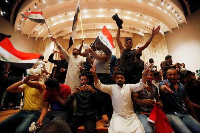 State of emergency declared in Baghdad as protesters take Iraqi parliament